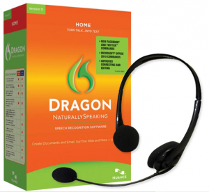 Product Image of Dragon Home Edition Speech Recognition Software