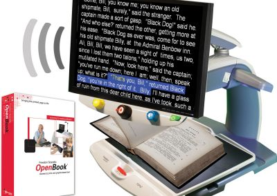 Product Image of Open Book and Pearl Scanning and Reading Software