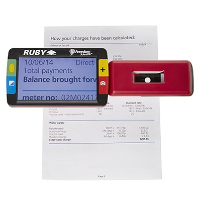 RUBY Handheld Video Magnifiers